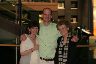 Left to right: Bonnie Leyton, Will Gill, Mary Pratt.